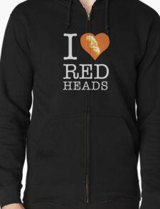 I heart (love) redheads T-Shirt