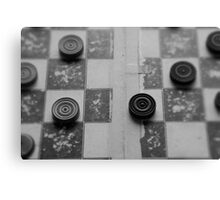 Your Move, Checkers Canvas Print