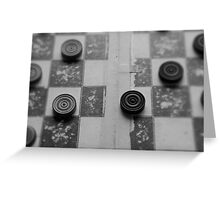 Your Move, Checkers Greeting Card