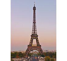 Twilight in Paris Photographic Print