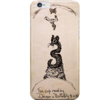 Tea Cup Reading iPhone Case/Skin