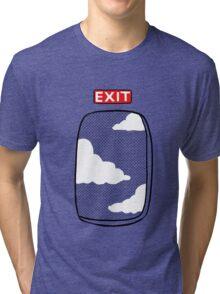 Emergency exit Tri-blend T-Shirt