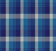 00447 Bannockbane Light Blue Tartan Fabric Print Iphone Case by Detnecs2013