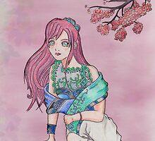 Cherry Blossom by Chukii
