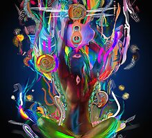 Ethereal Cosmosis by Archan Nair