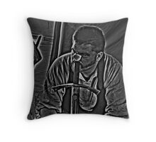 The Eye Of The Master Throw Pillow