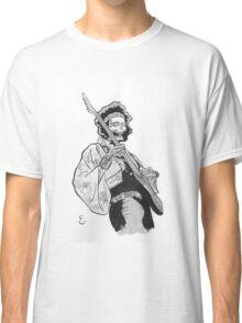 Ghost of Jimi Hendrix Classic T-Shirt