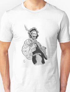 Ghost of Jimi Hendrix Unisex T-Shirt