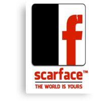 Scarface I Canvas Print