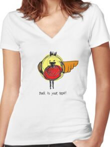 Back to your Nest! - T Shirt Women's Fitted V-Neck T-Shirt