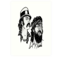 Cheech & Chong II Art Print