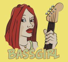 Bass Girl - Bassist by chrisbears