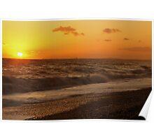 Brighton Beach - UK Poster