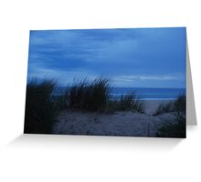 Beach Dune Greeting Card
