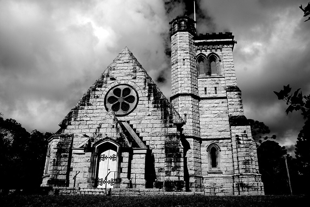 Old Church by unstoppable