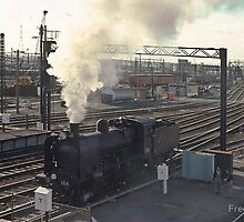 197412990023 K 184 going into Spencer Street Yards Melbourne... by Fred Mitchell by Shot in the Heart of Melbourne, 2013