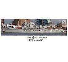 HMS Illustrious Photographic Print