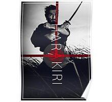 Masaki Kobayashi's Harakiri Poster