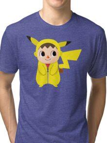 Villager Pika-Onesie Tri-blend T-Shirt