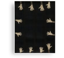 The Gloves. Canvas Print