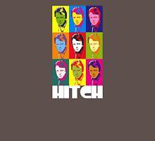 Christopher Hitchens - poster boy of atheism? (dark blazer print) Unisex T-Shirt
