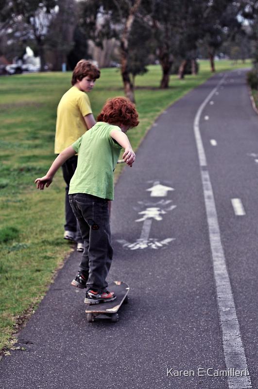 cool move bro by Karen E Camilleri