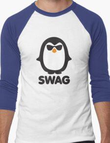 SWAG Pinguin Men's Baseball ¾ T-Shirt