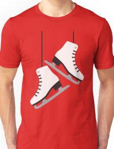 White female Skates Unisex T-Shirt