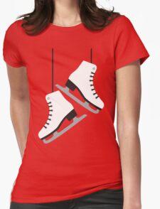 White female Skates Womens Fitted T-Shirt