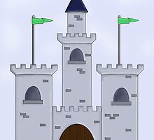 Cartoon Castle by Debbie Taylor