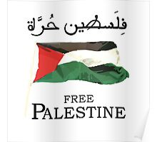 Free Palestine 2013 t shirts, stickers and cases Poster