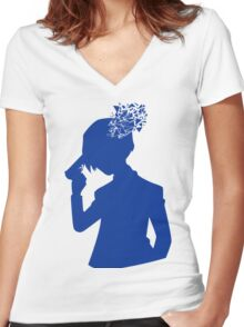 P3: The Protagonist Women's Fitted V-Neck T-Shirt