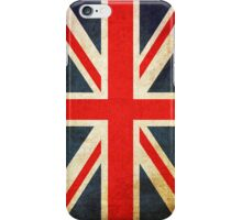 Grunge Effect Union Jack iPhone Case/Skin