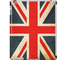 Grunge Effect Union Jack iPad Case/Skin