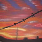 Barbed Wire by Sacha Whitehead