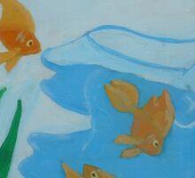 Goldfishbrain Sticker