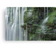 Waterfall, Brecon Beacons Canvas Print