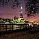 The Shard at Dusk by AntonyB