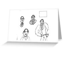 The Envelope Please Greeting Card