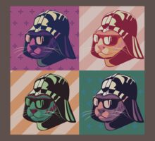 Darth Kitty Pop - Pastel Kids Clothes