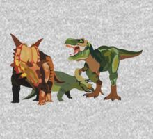 Dinosaurs One Piece - Short Sleeve