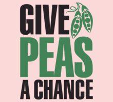 Give peas a chance 2clr Kids Clothes