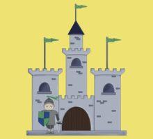 Sir Knight's Castle T Kids Tee