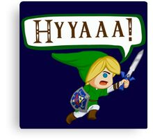 Chibi Link ATTACK! Canvas Print