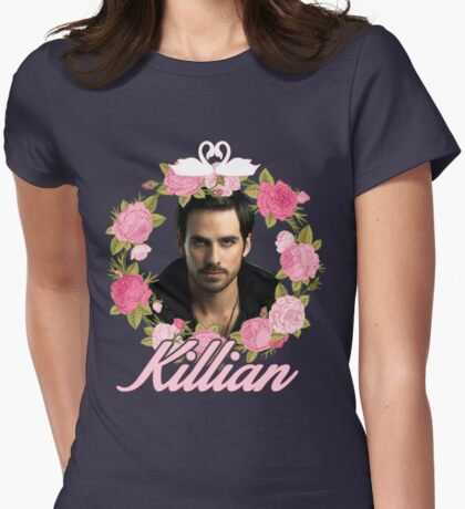 Killian Jones Womens Fitted T-Shirt