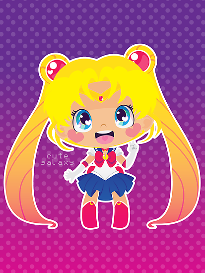 Sailor Moon by cutegalaxy