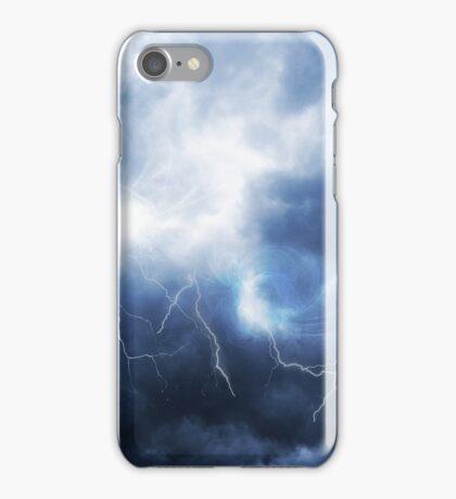 Blue Lightning - artistic iphone case iPhone Case/Skin