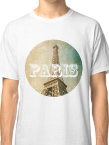 old fashioned paris The Eiffel Tower  Classic T-Shirt