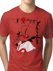 I <3 Anime Nerds Tri-blend T-Shirt