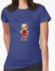 Red is the BEST !  Womens Fitted T-Shirt